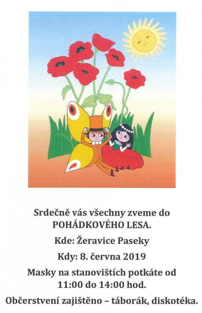 Pohádkový les Žeravské Paseky 2019